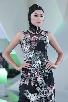 ATRIUM INDONESIA FASHION FORWARD SHOW Atrium, Fashion Forward, High Neck Dress, Modern, Dresses, In Trend, Turtleneck Dress, Vestidos, Trendy Tree