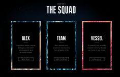 squad Biologist, Meet The Team, Interactive Design, Web Design, Education, Life, Inspiration, Tv, Squad