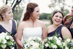 Mandy & Pete's Wedding. Vista West Ranch {3.17.12} ---- Rustic Wedding. Grey Bridesmaid Dresses.
