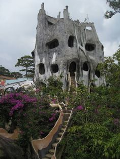 Da Lang, Vietnam - Hang Nga's Tree House Hotel, better known as Crazy House