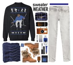 A fashion look from December 2016 featuring long sleeve tops, true religion jeans and suede boots. Polyvore App, Blazer With Jeans, Alexandre Birman, Cher, Sweater Weather, True Religion, Essie, Nars Cosmetics, Drake