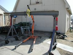 4 Ton Gantry Crane Build