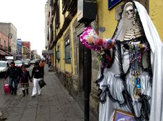 La Santa Muerte, Cidade do México.