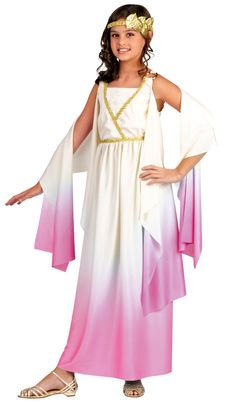 Girls Greek Goddess Kids Costume Greek Goddess Costumes - Mr. Costumes