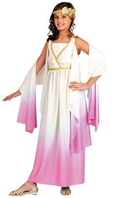 Girls Greek Goddess Kids Costume Greek Goddess Costumes - Mr. Costumes