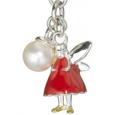 Molly Brown red fairy charm