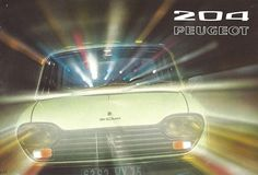 1972 Peugeot 204