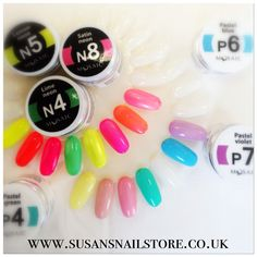 I know the weather is not the best, but these summery colours definitely makes you feel better!  There is still one month left from the summer, bring on the NEONS and PASTELS! #mosaic gel paints are high in pigments, cures under 36w uv light in 1 minute and selling at £10.50/5ml. To check the colours out, and have a look on our special offers , please visit www.susansnailstore.co.uk