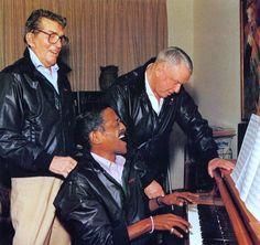 Rat Pack Rehearsal; Frank Sinatra, Dean Martin & Sammy Davis Jr.