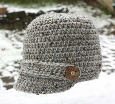 Repeat Crafter Me: Crochet Brimmed Hat