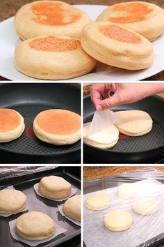 Aprende con este vídeo cómo hacer unos muffins ingleses. Es un pan que no necesita horno inventados por un inmigrante ... Leer Más