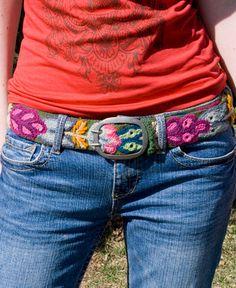 Handmade Peruvian Belt from Soul Flower Clothing