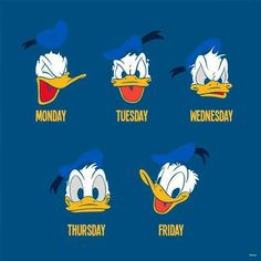 Days of the week More