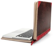 Cool Inventions Gadgets: A laptop case that looks like a book