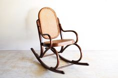 Etsy furniture shops: 7 best stores to check out now - Curbed Vintage Rocking Chair, Etsy Furniture, Mid Century Chair, Cool Chairs, Rustic Industrial, Wingback Chair, Dining Chairs, Lounge, Home Decor