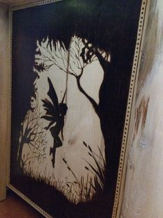 Pyrography of fairy