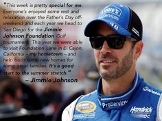 It has been a special week for @JimmieJohnson.