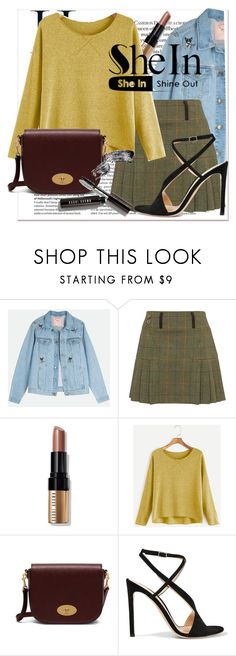 """""""Bordersz"""" by libstowki on Polyvore featuring moda, Bobbi Brown Cosmetics, Mulberry y Gianvito Rossi"""