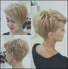 Die Frisuren Neue Frauen Kurzhaarfrisur 2018 Wunderbare Frisuren ... #Frisuren #HairStyles 30 Bilder Kurzhaarschnitt für Frauen Neue 2018