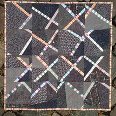 A Quilter's Table: Crosscut Showing One