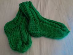Babysocken grün