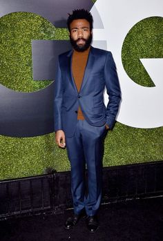 delevingned: Donald Glover attends the GQ 20th Anniversary Men...