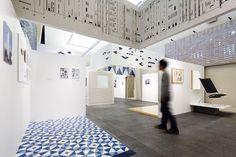 torafu architects texturizes gio ponti exhibit with tactile surfaces - designboom   architecture