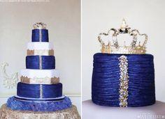 Royal cake Royal Blue Cake, Royal Cakes, Diy Wedding, Wedding Day, Wedding Countdown, Blue Cakes, Blue And White Dress, Amazing Weddings, Beautiful Wedding Cakes