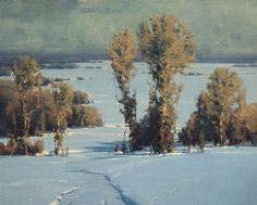 Scott Christensen . landscape painting