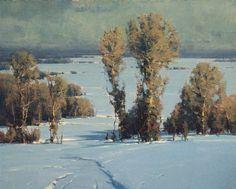 Scott Christensen . landscape painting