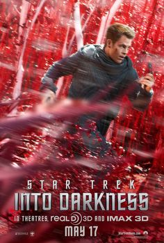 Star Trek Into Darkness. I liked it, but not as much as the last one. But as far as summer movies go, it's good. And Chris Pine is hot. B+.