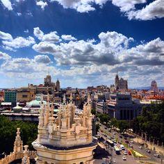Amanece en Madrid