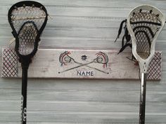 I can see my future daughter's lacrosse stick hanging proudly in our future house...ah, the future.