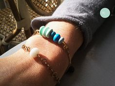 Bracelet Aqua $20 (14€)