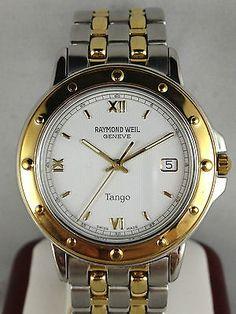 Raymond Weil 5560 Tango Collection Men's Watch 36mm in Wristwatches | eBay