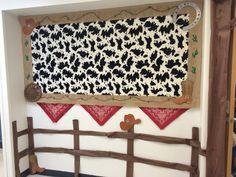 Bulletin board for western theme classroom
