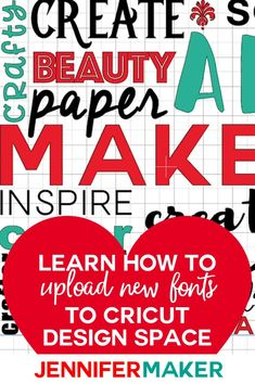 Aug 2019 - The easy way to upload fonts to Cricut Design Space on Windows, Mac, and iOS (iPad & iPhone), including the trick to getting them to actually show up after installing! Good Tutorials, Cricut Tutorials, Cricut Ideas, Cricut Explore Projects, Cricut Explore Air, Cricut Help, Diy Porch, Do It Yourself Home, Home Repair