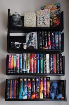 Gorgeous Books Library Book Shelves Reading Nook Floating Bookshelves