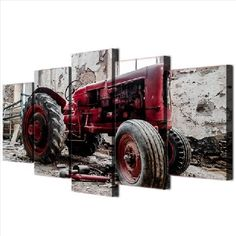 Material: Canvas  Subject: Landscape  Type: Canvas Printing  Shape: Irregular  Frame: With Frame  #artwork #artprints #canvasprints #homedecor Canvas Artwork, Canvas Wall Art, Wall Art Prints, Canvas Prints, Framed Prints, Red Tractor, Large Wall Art, Canvas Fabric, Art Gallery