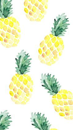 Wallpaper Ananas