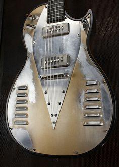 Bonneville V8 Guitars This is slick