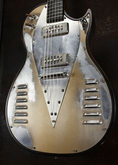 Bonneville V8 Guitars This is slick