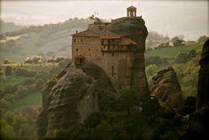 The mind-boggling monasteries at Meteora.