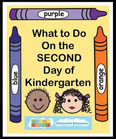 What to Do on the Second Day of Kindergarten!