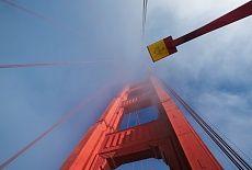 Am Golden Gate #wallpaper