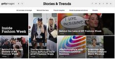 Microstock Infos: Getty Images partners with Pantone and Tumblr to launch 'Stories and Trends'