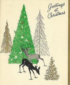 1965 Vintage Christmas card |