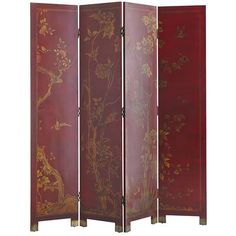 Taochi  Room Divider - Red