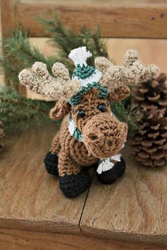 Ravelry: Merry the Moose pattern by Megan Kreiner