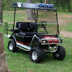 My custom golf cart, did all the work myself!
